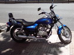 KAWASAKI 250 ELIMINATOR black
