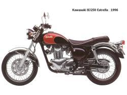 kawasaki 250 estrella
