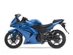 KAWASAKI 250 blue
