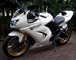 KAWASAKI 250 white