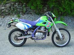 KAWASAKI 650 green