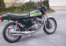 KAWASAKI 750 green