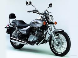 KAWASAKI ELIMINATOR brown