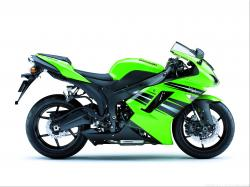 KAWASAKI ELIMINATOR green
