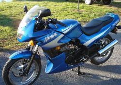 KAWASAKI EN 500 blue