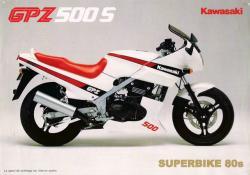 KAWASAKI EN 500 white