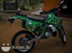 KAWASAKI KDX 125 brown