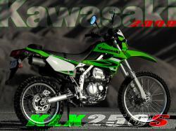 KAWASAKI KLR 250 engine
