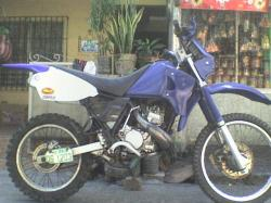 KAWASAKI KMX blue