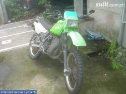 KAWASAKI KMX green