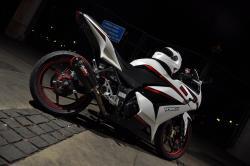 KAWASAKI NINJA 250R white