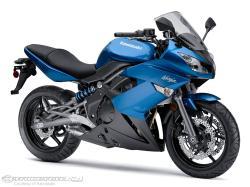 KAWASAKI NINJA 650R blue