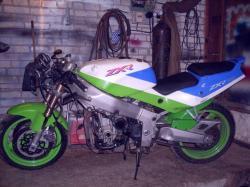 KAWASAKI ZXR 750 engine