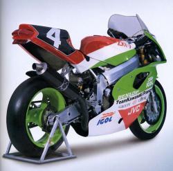 KAWASAKI ZXR 750 green