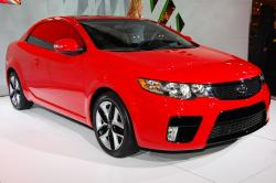 KIA FORTE KOUP brown