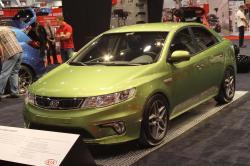 KIA FORTE green