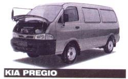 KIA PREGIO engine