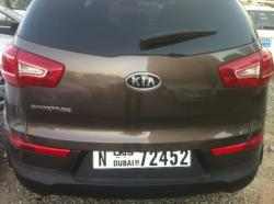 KIA SPORTAGE brown