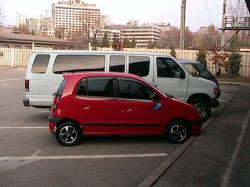 KIA VISTO red