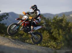 KTM 125 EXC engine