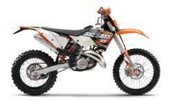 KTM 125 EXC white