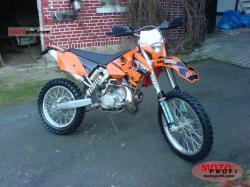 KTM 200 EXC brown