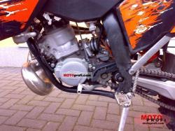 KTM 200 EXC engine