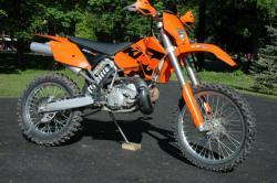 KTM 200 EXC silver
