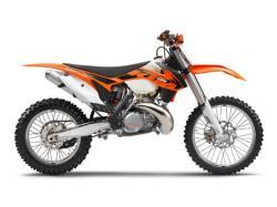 KTM 250 silver