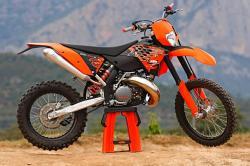KTM 300 EXC brown