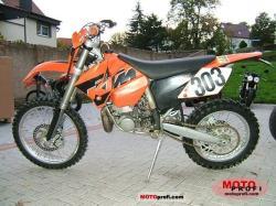 KTM 300 EXC green