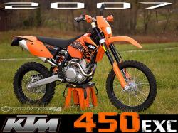 KTM 300 EXC interior