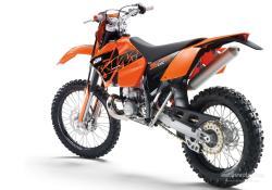 KTM 300 EXC silver