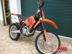 KTM 400 EXC engine