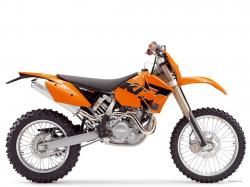KTM 400 EXC red