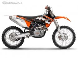 KTM 450 SX brown
