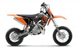 KTM 50 SX MINI white