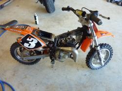 KTM 50 white