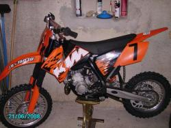 ktm 85 sx - review and photos