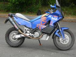 KTM 990 ADVENTURE blue