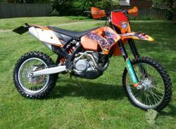 KTM EXC 400 blue