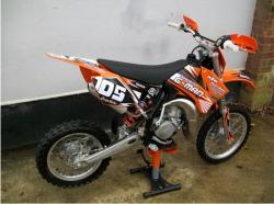 KTM SX 85 engine