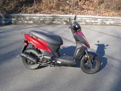 KYMCO AGILITY red