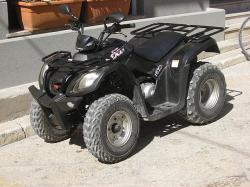 KYMCO MXU 150 black