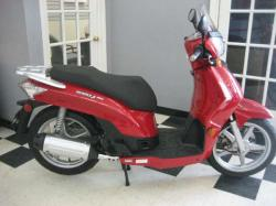 KYMCO PEOPLE 200I red