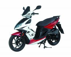 KYMCO SUPER 8 125 red