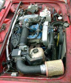 LADA NIVA engine