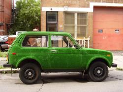LADA NIVA green