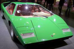 LAMBORGHINI COUNTACH green