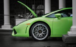 LAMBORGHINI GALLARDO 560-4 green